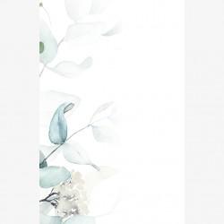 Visitenkarte Aquarell Flower