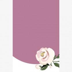 Visitenkarte Rose