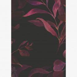 Grußkarte Dark Floral