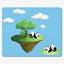 Textil-Mousepad Panda