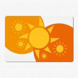 XXL Textil-Mousepad Sun