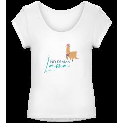 T-Shirt Motiv Spruch Lama