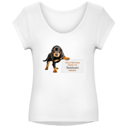 T-Shirt Motiv Tierhaare
