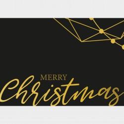 Weihnachtskarte Querformat