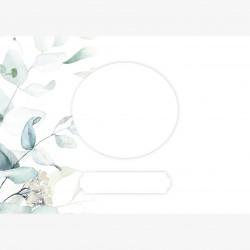 Grußkarte Aquarell Flower